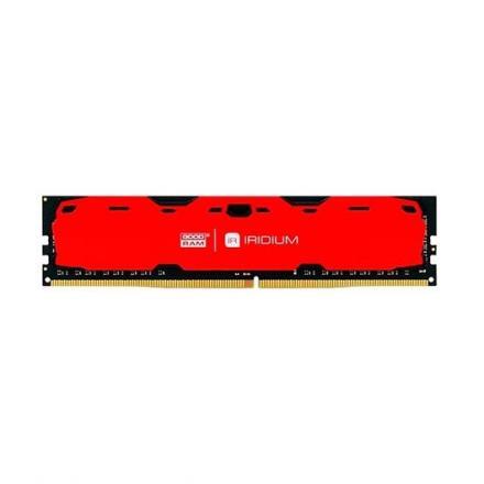 MODULO MEMORIA RAM DDR4 4GB PC2400 GOODRAM IRDM ROJO - Imagen 1
