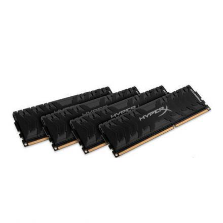 MODULO MEMORIA RAM DDR4 16GB (4X4GB) PC3000 KINGSTON HYPERX - Imagen 1
