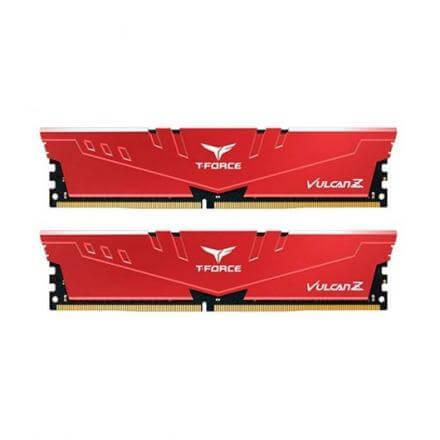 MODULO MEMORIA RAM DDR4 2X4GB PC2666 TEAMGROUP TFORCE VULCA - Imagen 1