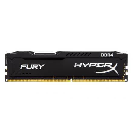 MODULO MEMORIA RAM DDR4 8GB PC2400 KINGSTON HYPERX FURY BLA - Imagen 1