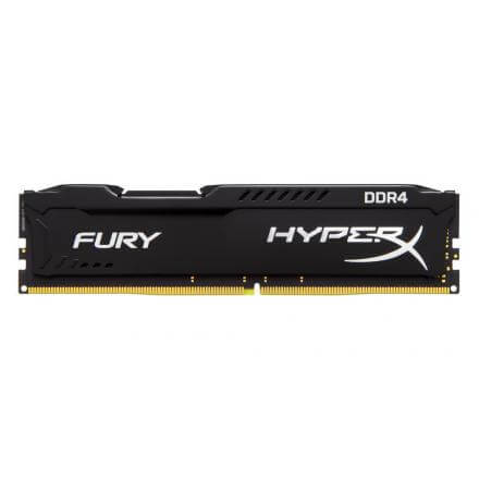 MODULO MEMORIA RAM DDR4 4GB PC2400 KINGSTON HYPERX FURY  NE - Imagen 1