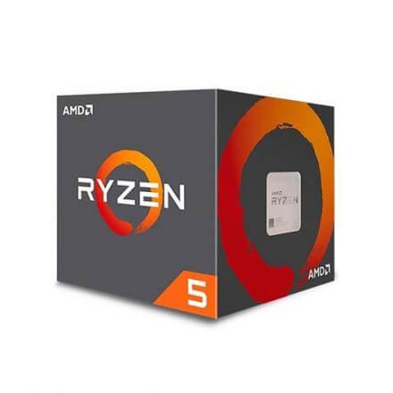 PROCESADOR AMD AM4 RYZEN 5 2600X MAX 6X3.6GHZ/16MB BOX - Imagen 1