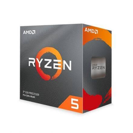 PROCESADOR AMD AM4 RYZEN 5 3600 6X4.2GHZ/36MB BOX - Imagen 1