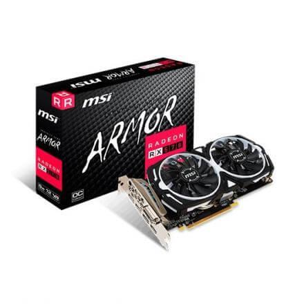 TARJETA GRÁFICA MSI RX570 ARMOR OC 8GB GDDR5 - Imagen 1