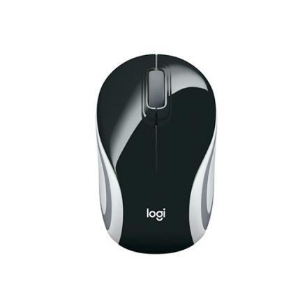 RATON OPTICO LOGITECH M187 MINI WIRELESS NEGRO - Imagen 1