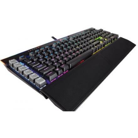 CORSAIR TECLADO K95 RGB PLATINUM CHERRY,USB,MX,BROWN,GAMING,MECANICO - Imagen 1
