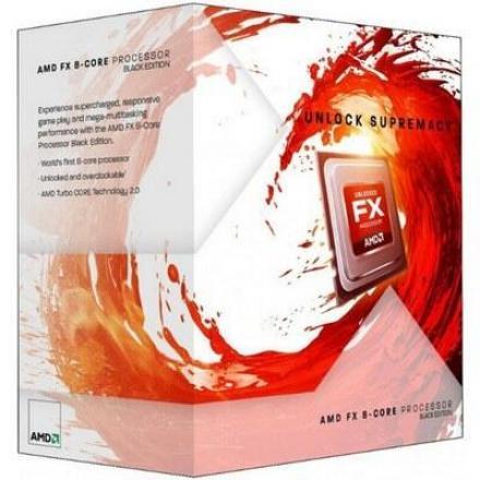 Cpu Amd X8 Fx-8320e Am3+ Box 3.2ghz - Imagen 1