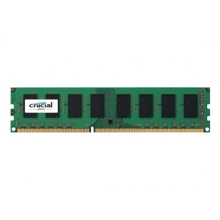 Memoria Crucial Ddr3 4gb Pc1600 Cl11 Ct51264bd160bj - Imagen 1
