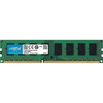 Memoria Crucial Ddr3l 2gb A 1600 Mhz  Pc3l-12800 Cl11 1.35 V - Imagen 1