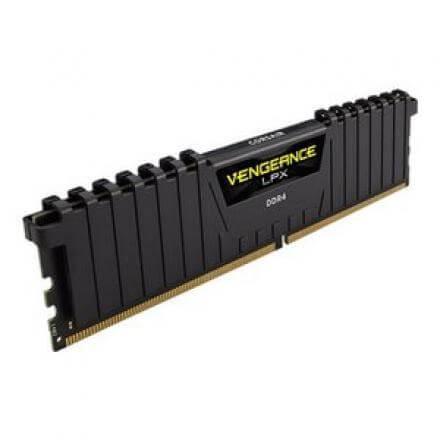 CORSAIR MEMORIA DDR4  4GB PC4-19200 2400MHZ VENGEANCE CMK4GX4M1A2400C16 - Imagen 1