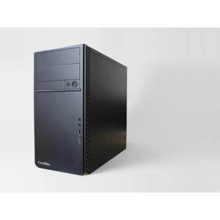 Coolbox Caja Pc M660 Microatx Sin Fuente 2xusb3 Coo-pcm660-0 - Imagen 1