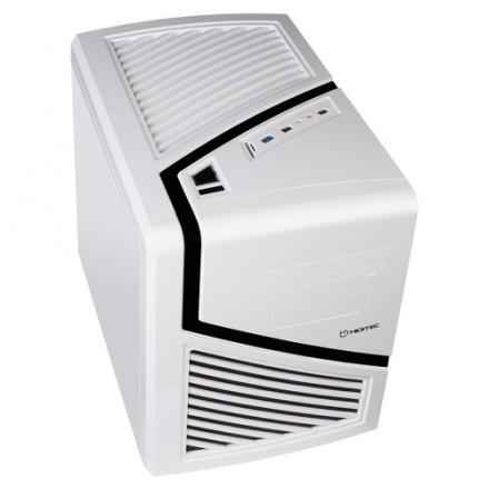 Hiditec Caja Pc Cube Atx Snow Kube Usb 3.0  Micro Atx / Itx  Sin Fuente Blanca - Imagen 1