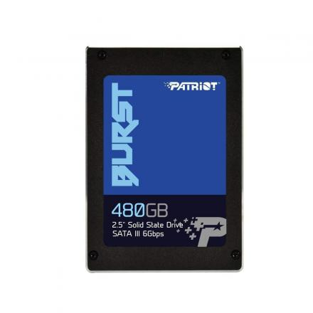 Ssd Patriot 480gb 2,5 Burst 560mbs/540mbs, Sata 3