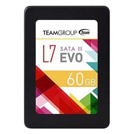 Team Group Disco Ssd 2,5  60gb Sataiii 460 Mb/s, 6 Gbit/s - Imagen 1