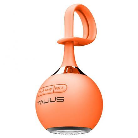 Talius Altavoz Drop 3w Bluetooth Orange - Imagen 1