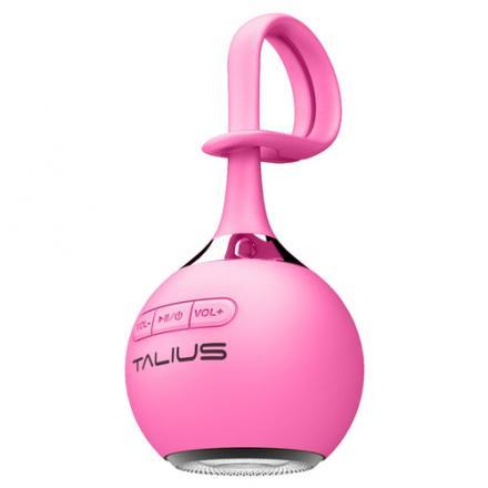 Talius Altavoz Drop 3w Bluetooth Pink - Imagen 1