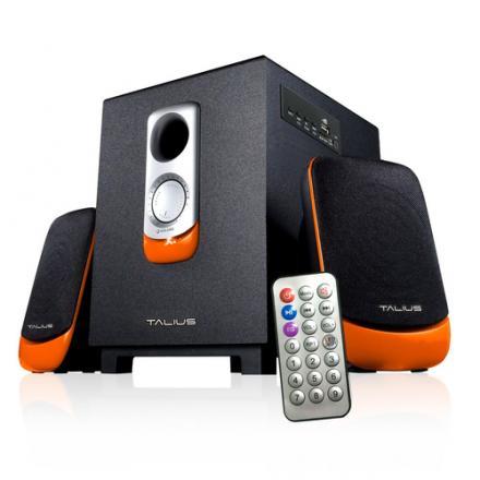 Talius Altavoz Spk-2101bt 2.1 Usb/sd/fm Bluetooth Black/orange - Imagen 1