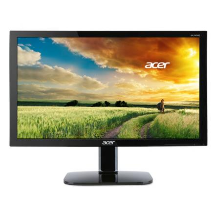 Monitor Acer 23.6\1 Ka240hqbbid Fullhd (1920x1080), 1ms, 300 Nits, 16:9, Hdmi, Dvi,vga Panel Tn+film, - Imagen 1