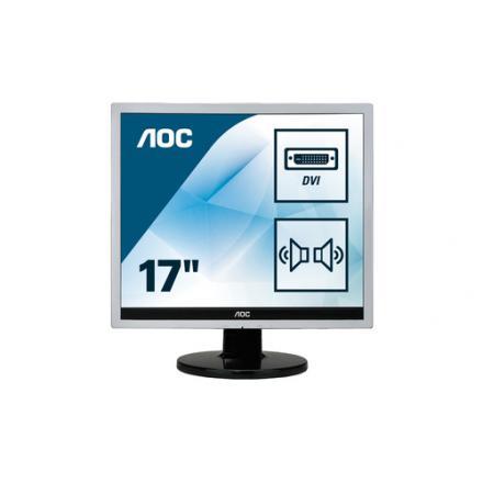 Monitor Aoc 17\1 719sda Lcd Vga-dvi 4:3 Multimedia - Imagen 1