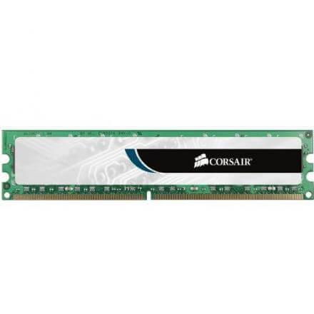 CORSAIR MEMORIA DDR3  2GB PC3-10600 1333MHZ VS2GB1333D3 - Imagen 1