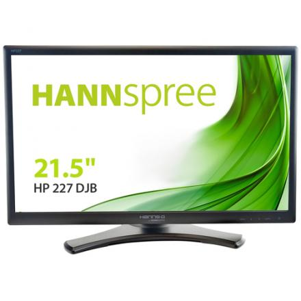Monitor Hanns-g 21.5''  Hp227djb 16:9 Dvi Pivotante Multimedia 1920x1080 5ms 20m:1 250cd/m2 Vga,dvi Ne - Imagen 1