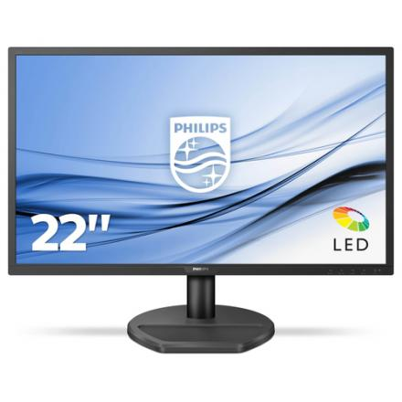 Monitor Philips 21.5'' 221s8ldab Dvi-d, Hdmi 1ms Gtg 60hz Altavoces 2x2w Inclinable - Imagen 1