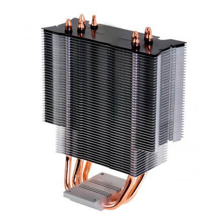 COOLBOX VENTILADOR UNIVERSAL CYLONE LED 2011/1156/1155/1151/1150/775/FM2+/FM2/FM1/AM4/AM3+/AM3/AM2+/ - Imagen 1