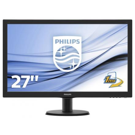 Philips Monitor 27\1 273v5lhsb,led,vga,hdmi.5ms,fullhd,1920x1080,smart Control Lite,300 Cd/m2 - Imagen 1