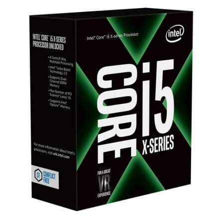 CPU INTEL 2066 i5-7640X 4,0GHZ KABY LAKE 6MB BOX - Imagen 1