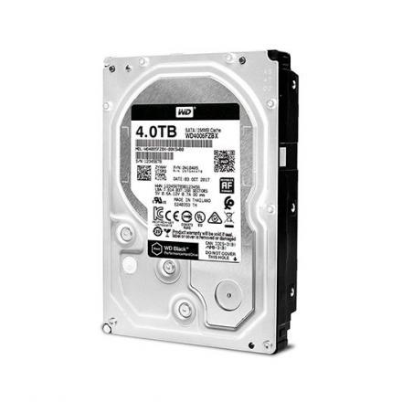 DISCO DURO 3.5  4TB SATA3 WD 256MB DESKTOP BLACK - Imagen 1