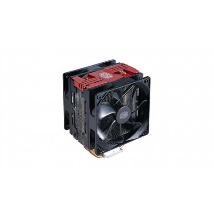 DISIPADOR COOLERMASTER HYPER 212 LED TURBO RED - Imagen 1