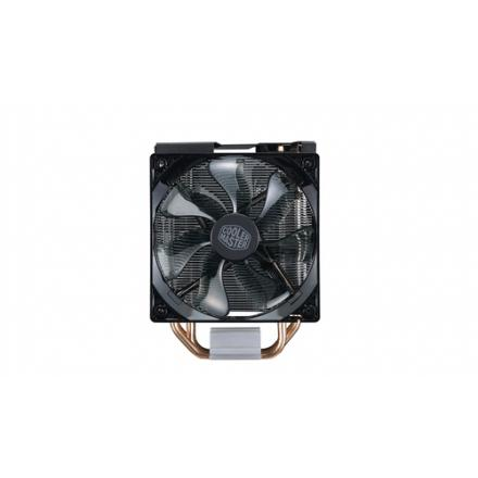 DISIPADOR COOLERMASTER HYPER 212 LED TURBO BLACK - Imagen 1