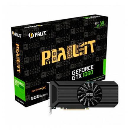 TARJETA GRÁFICA PALIT GTX 1060 3GB STORM X GDDR5 - Imagen 1