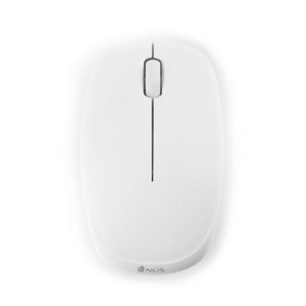 RATON OPTICO NGS WHITE FOG WIRELESS - Imagen 1