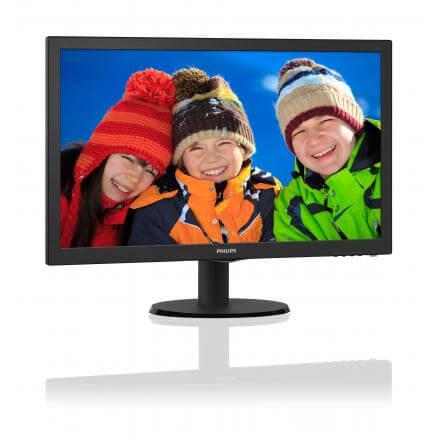 """MONITOR PHILIPS 21.5"""" V-LINE 223V5LHSB2 LED,VGA,HDMI,FULLHD,5MS,10M:1,200CD/M2 - Imagen 1"""