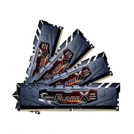 MODULO MEMORIA RAM DDR4 4x8GB PC3200 G.SKILL FLARE X CL14 - Imagen 1