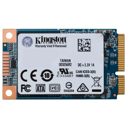 DISCO DURO MSATA SSD 120GB SATA3 KINGSTON UV500 - Imagen 1