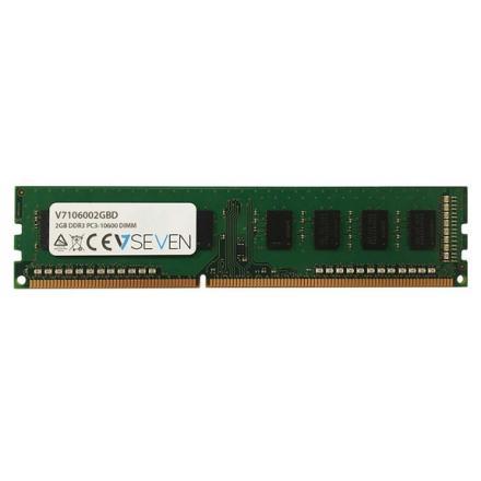 MEMORIA V7 DDR3 2GB PC 1333MHZ, CL9 5050914959463 - Imagen 1