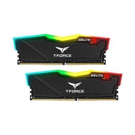 MODULO MEMORIA RAM DDR4 2X4GB PC2666 TEAMGROUP DELTA RGB - Imagen 1