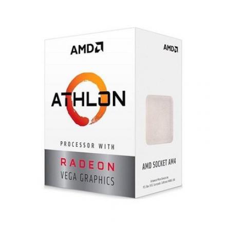 PROCESADOR AMD AM4 ATHLON 200GE 2X3.2GHZ/4MB BOX - Imagen 1