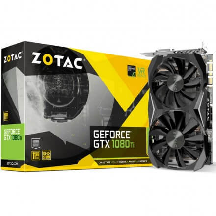 Zotac Mini GTX 1080 Ti 11GB DDR5X REACONDICIONADA