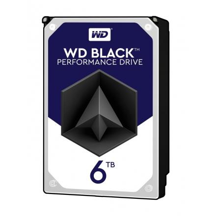 Hd Western Digital 3.5\1 6tb Black Wd6003fzbx  Sata 6gb/s  7200 Rpm Bufer: 128 Mb - Imagen 1