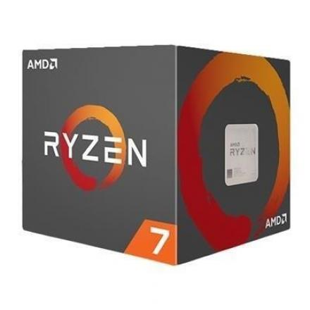 Cpu Amd Am4 Ryzen 7 1800x 4.0ghz 20mb Box (sin Vent) - Imagen 1