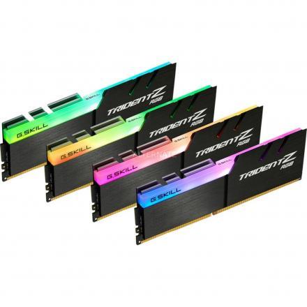 Memoria Gskill Ddr4 32gb Pc4133 C19  Tz Rgb Kit 4 4x8gb;1,4v,tridentz Rgb - Imagen 1