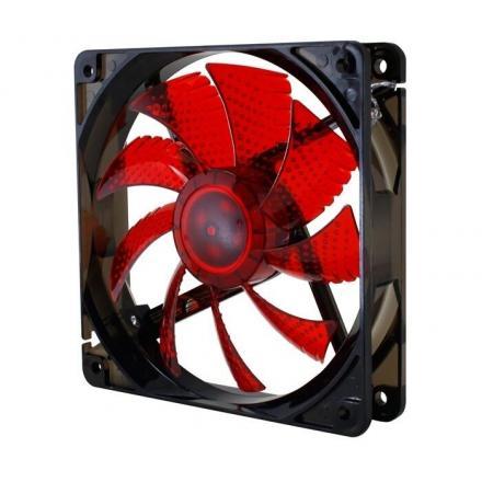 Nox Ventilador Coolfan 120 Led Rojo 120x120 - Imagen 1