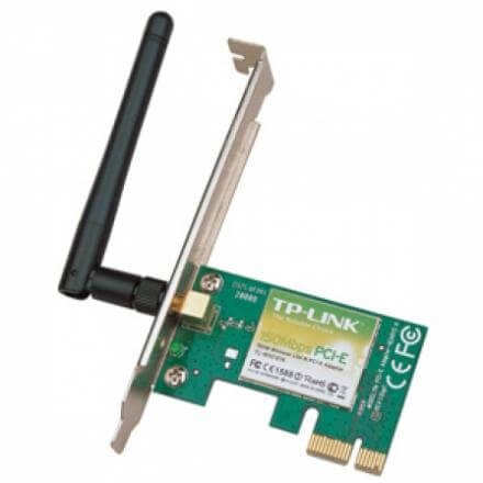 TP LINK TARJETA PCI EXPRESS WIFI TL-WN781ND 150 MBPS (D) - Imagen 1