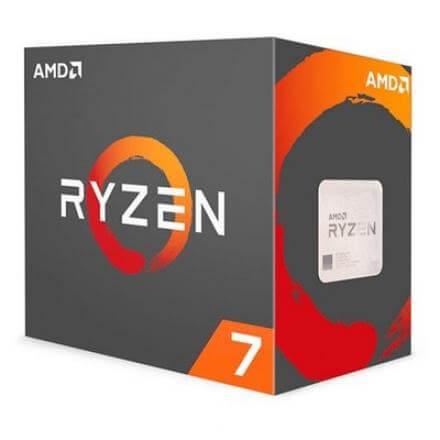 PROCESADOR AMD AM4 RYZEN 7 2700X 8X4.35GHZ/20MB BOX - Imagen 1