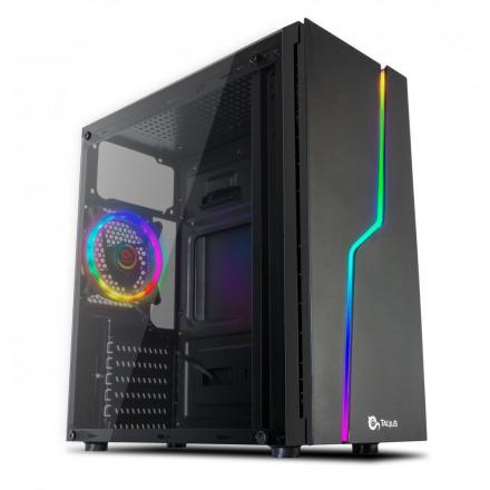 Talius Caja Atx Gaming Spark Rgb Cristal Templado Usb 3.0 - Imagen 1