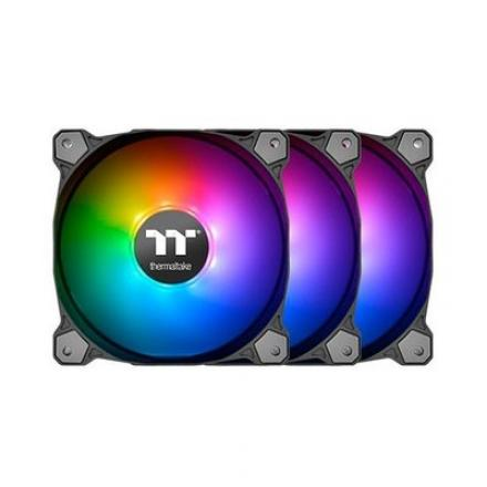 VEN 120X120 THERMALTAKE PURE PLUS 12 RGB TT 3-UDS - Imagen 1