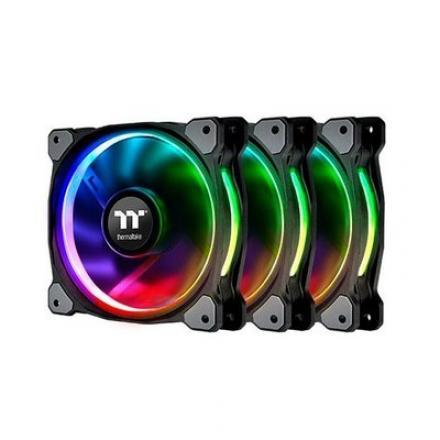 VENTILADOR 120X120 THERMALTAKE RIING PLUS 12 RGB TT 3-UDS - Imagen 1